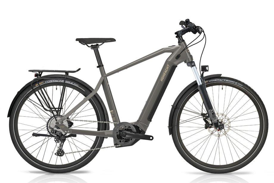 E-Bikes/e-bike: Hoheacht  Pasio Tero Grau Modell 2021