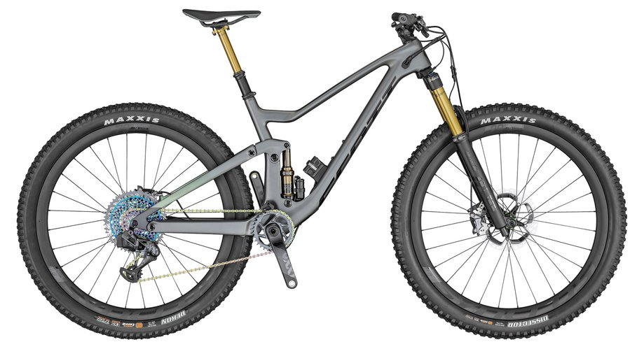 Fahrräder/Mountainbikes: Scott  Genius 900 Ultimate AXS Grün Modell 2020