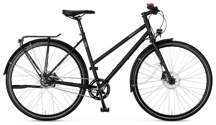 Fahrräder/citybike: VSF-fahrradmanufaktur  T-500 Nabe Disc Schwarz Modell 2021