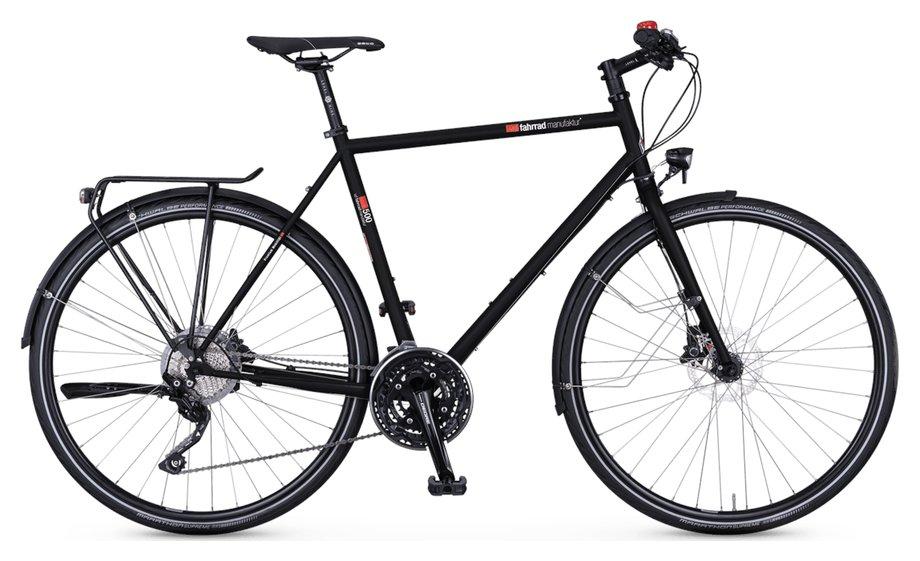 Fahrräder/trekkingräder: VSF-fahrradmanufaktur  T-500 Kette Disc Schwarz Modell 2021