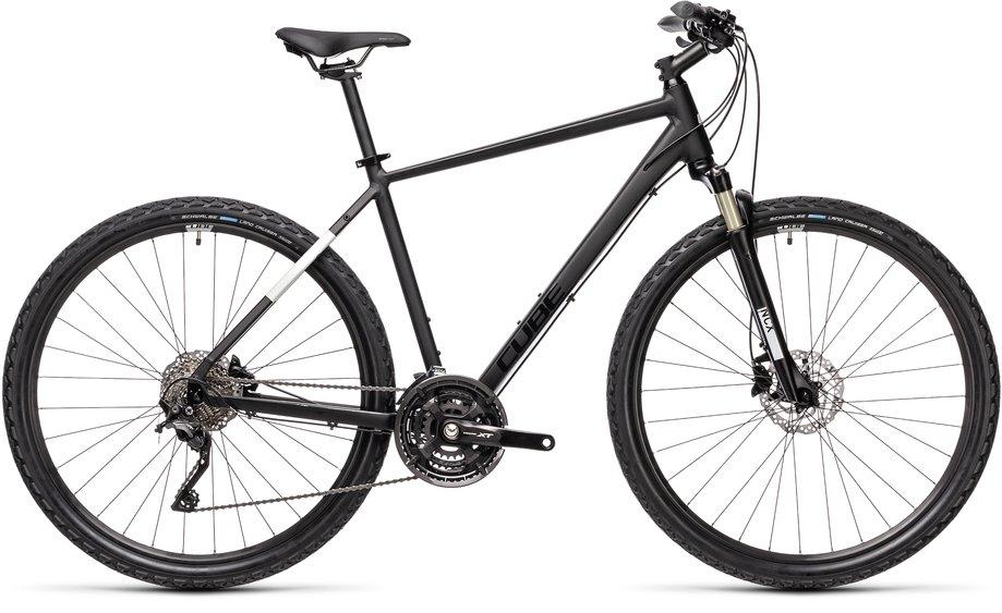 Fahrräder/Crossbikes: Cube  Nature EXC Schwarz Modell 2021