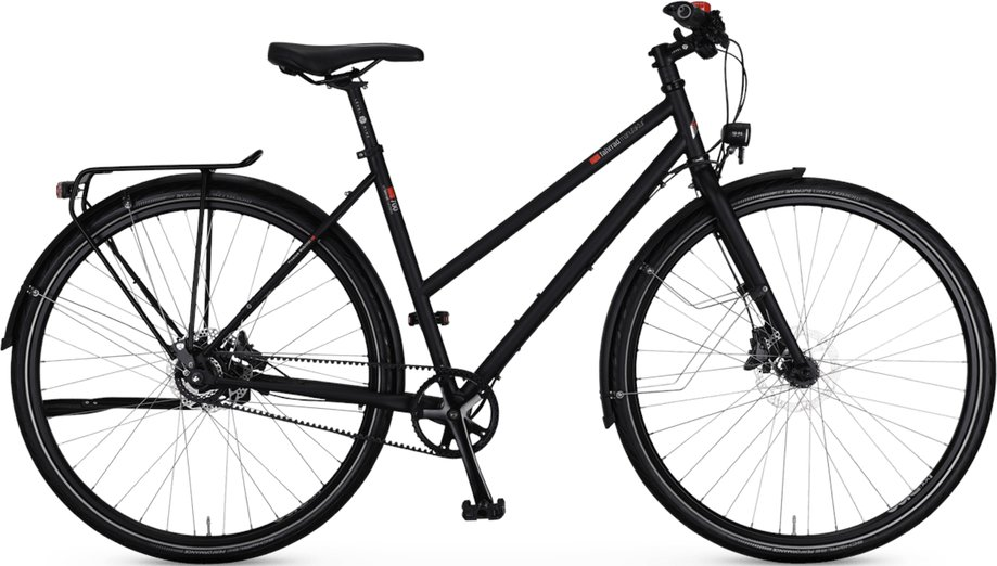 Fahrräder/citybike: VSF-fahrradmanufaktur  T-700 Nabe Disc Schwarz Modell 2021