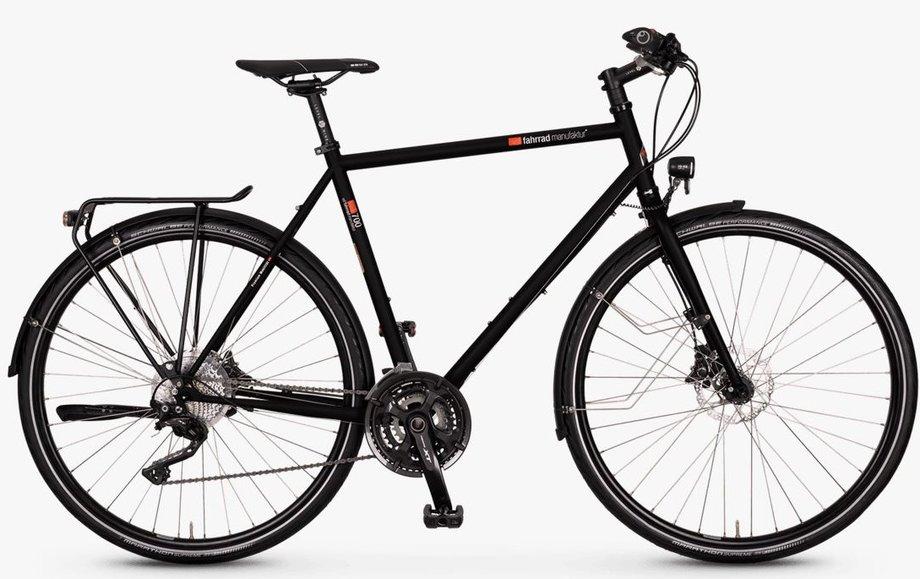VSF-fahrradmanufaktur T-700 Kette Disc Schwarz Modell 2021