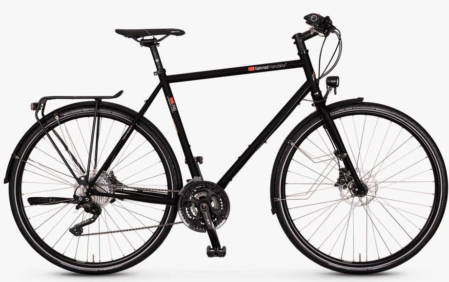 Fahrräder/trekkingräder: VSF-fahrradmanufaktur  T-700 Kette Disc Schwarz Modell 2021
