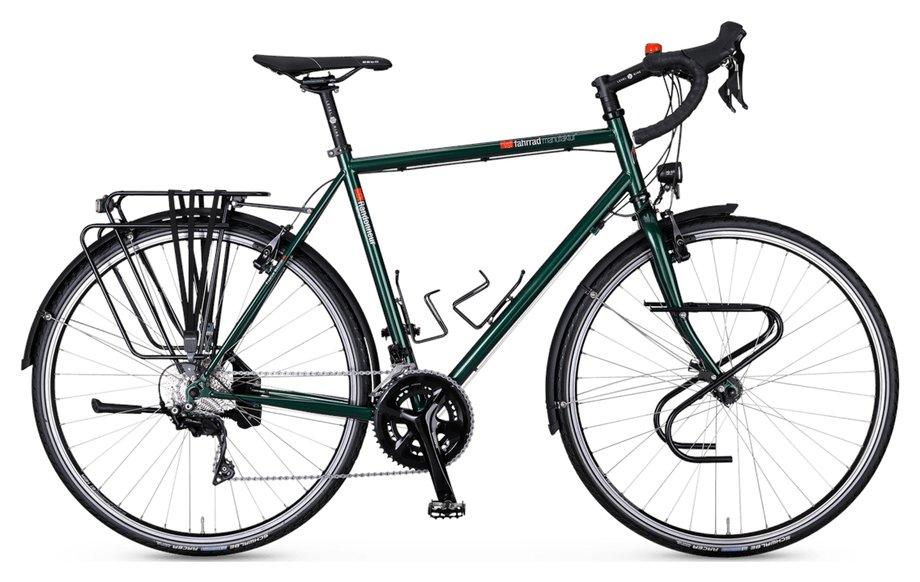 Fahrräder/trekkingräder: VSF-fahrradmanufaktur  TX-Randonneur Grün Modell 2021