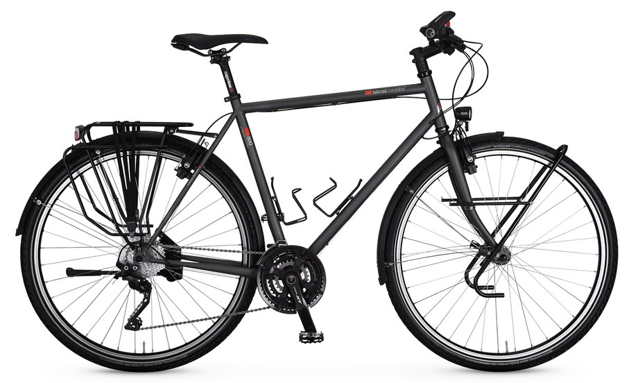 Fahrräder/trekkingräder: VSF-fahrradmanufaktur  TX-800 Kette HS33 Grau Modell 2021