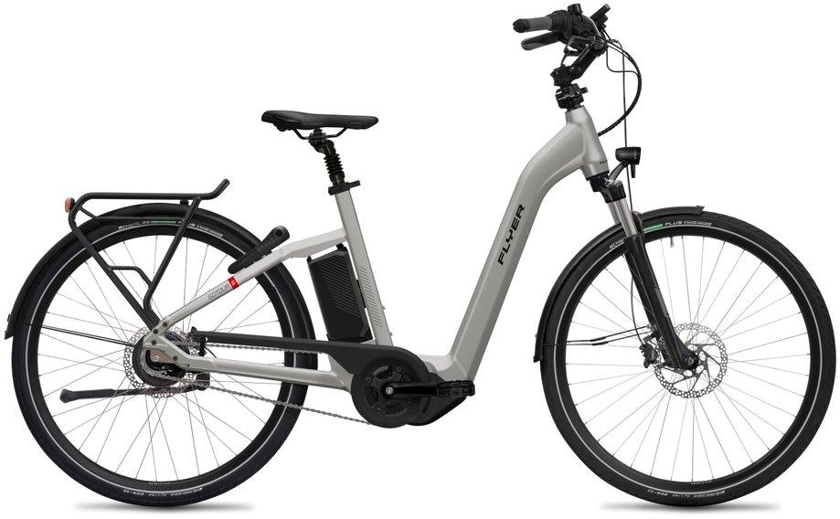 E-Bikes/e-bike: Flyer  Gotour5 5.00 - D0 Silber Modell 2020