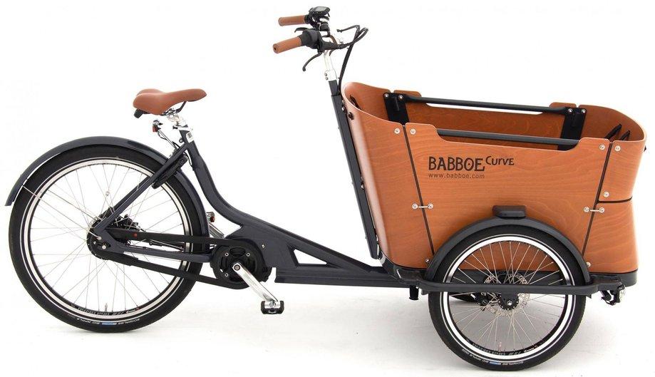 Fahrräder/lastenfahrräder: Babboe  Curve Mountain Schwarz Modell 2021