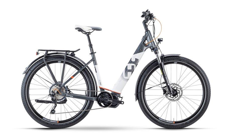 E-Bikes/e-bike: Husqvarna  Gran Urban 4 Grau Modell 2021