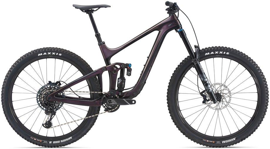 Fahrräder/Mountainbikes: GIANT Giant Reign Advanced Pro 1 Lila Modell 2021