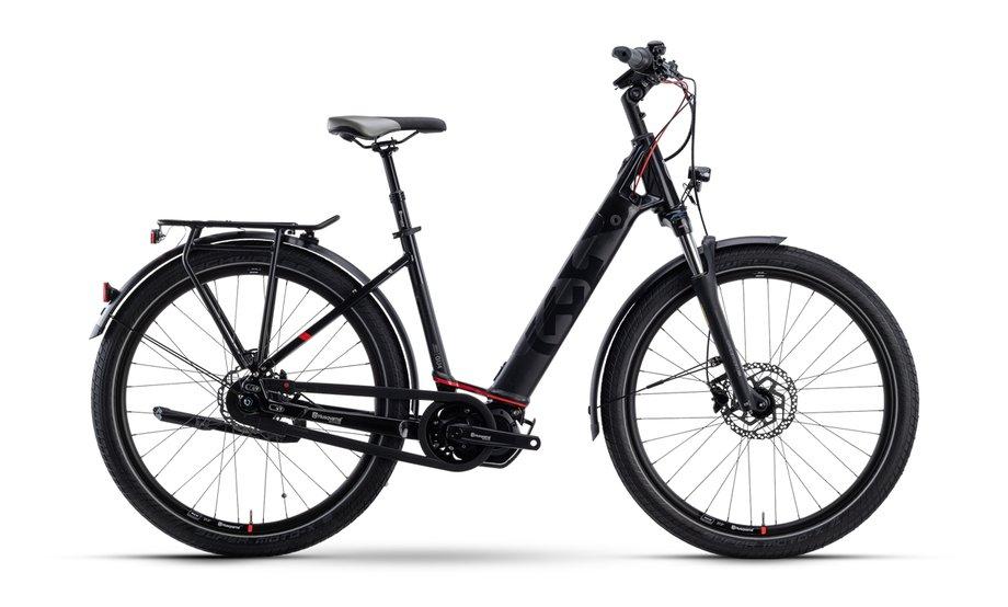 E-Bikes/e-bike: Husqvarna  Gran Urban 4 CB Schwarz Modell 2021