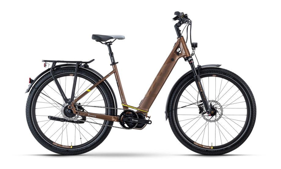 E-Bikes/e-bike: Husqvarna  Gran Urban 6 FW Bronze Modell 2021