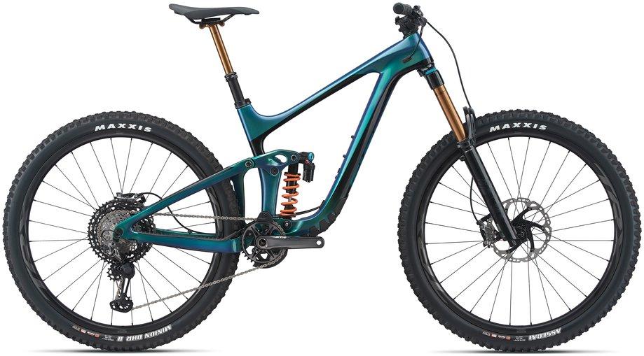 Fahrräder/Mountainbikes: GIANT Giant Reign Advanced Pro 0 Blau Modell 2021
