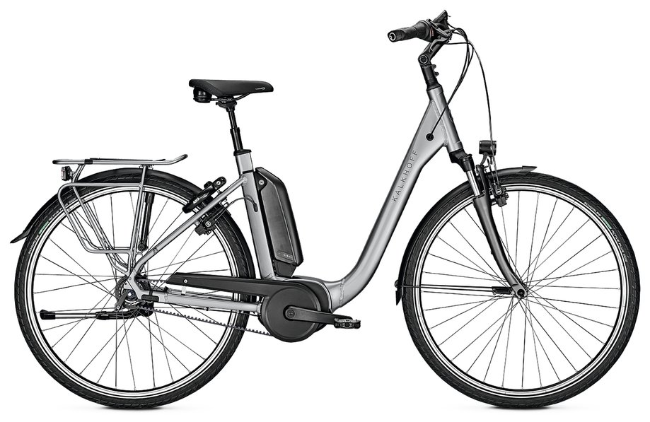 E-Bikes/e-bike: Kalkhoff  Agattu 3.B Excite Silber Modell 2020