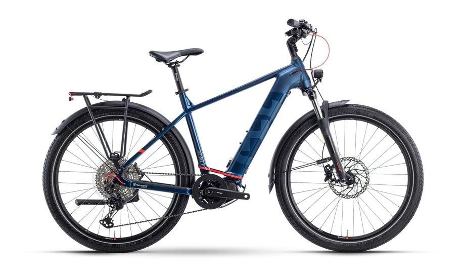 E-Bikes/e-bike: Husqvarna  Gran Tourer 5 Blau Modell 2021