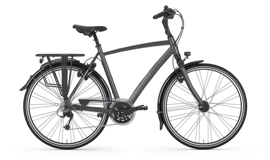 Fahrräder/hollandräder: Gazelle  Chamonix T30 Grau Modell 2021