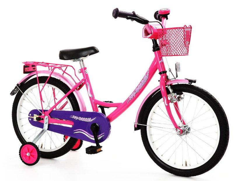 Bachtenkirch My Bonnie 16 Zoll Kinderfahrrad Pink Modell 2017