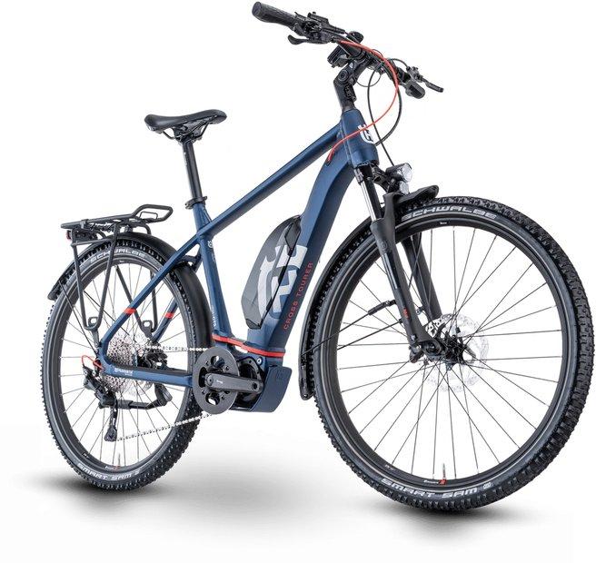 E-Bikes/e-bike: Husqvarna  Cross Tourer 3 Blau Modell 2021