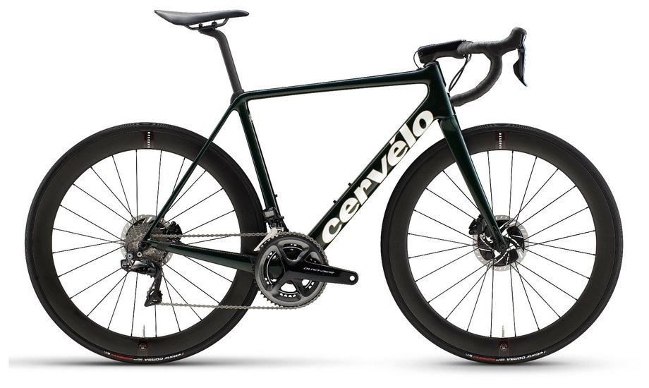 Fahrräder/rennräder: Cervelo  R5 Disc Dura Ace Di2 Grün Modell 2021