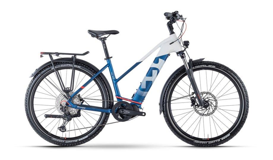 E-Bikes/e-bike: Husqvarna  Cross Tourer 5 Weiß Modell 2021
