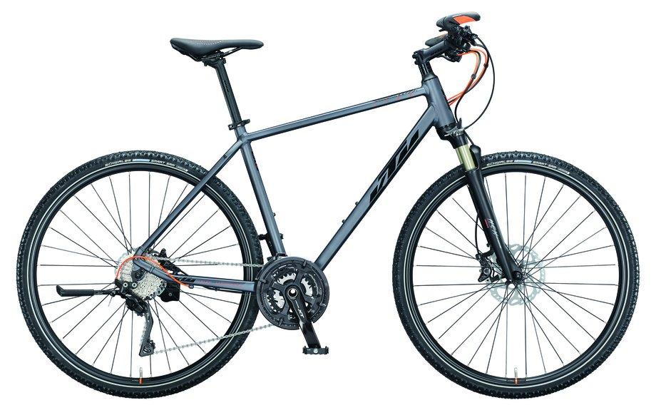 Fahrräder/Crossbikes: KTM  Life Race Grau Modell 2021