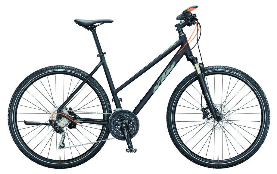 Fahrräder/Crossbikes: KTM  Life Action Schwarz Modell 2021