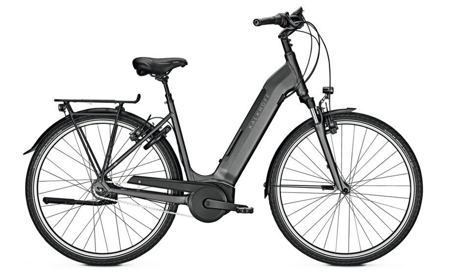 Kalkhoff Agattu 4.B Advance R E-Bike Schwarz Modell 2020