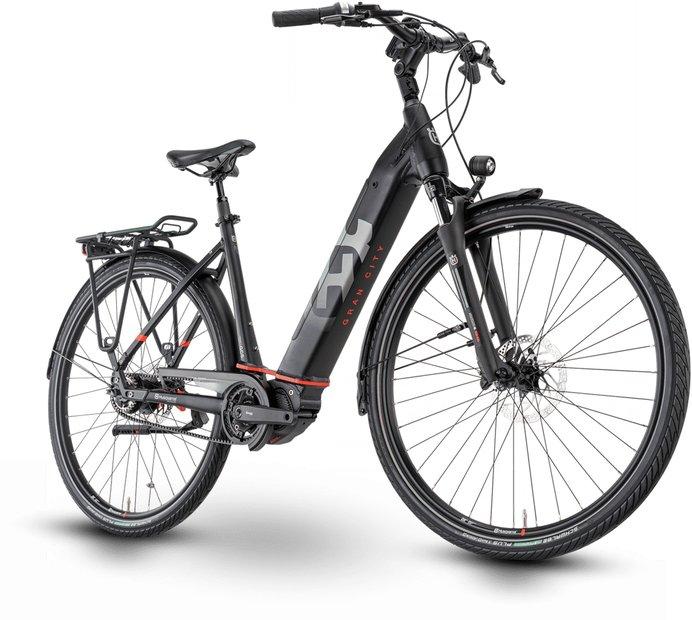 E-Bikes/e-bike: Husqvarna  Gran City 6 Schwarz Modell 2021