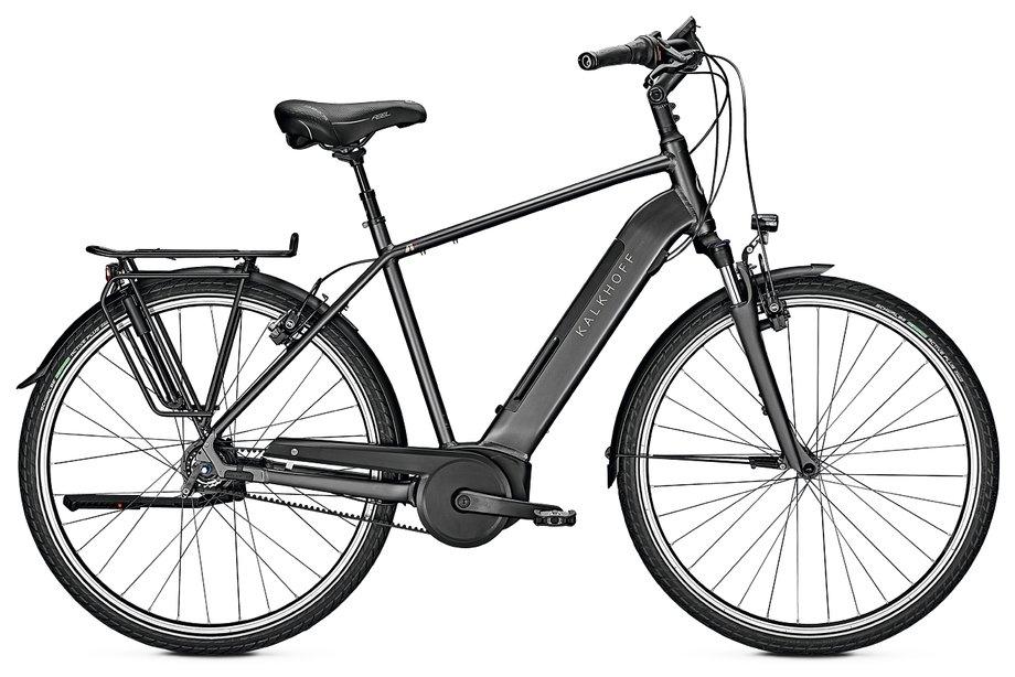 Kalkhoff Agattu 4.B Excite R E Bike Schwarz Modell 2020