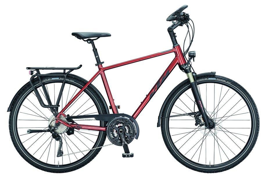Fahrräder/trekkingräder: KTM  Life Tour Braun Modell 2021