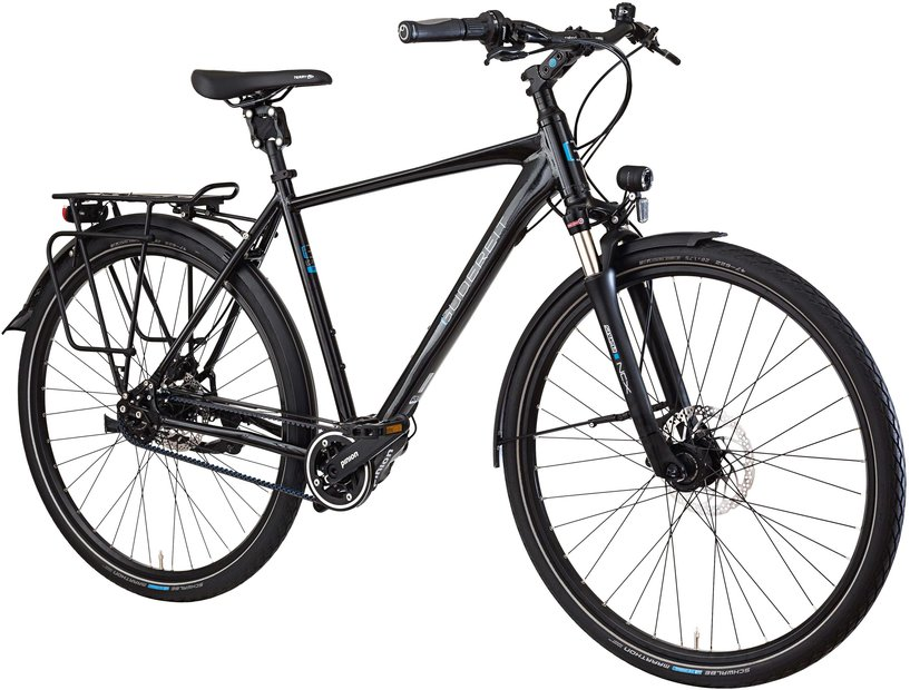 Fahrräder/citybike: Gudereit  LC-P 2.0 evo Schwarz Modell 2021
