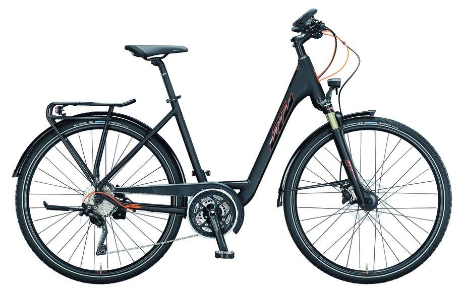 Fahrräder/trekkingräder: KTM  Life 1964 Schwarz Modell 2021