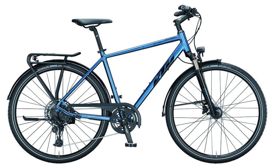 Fahrräder/trekkingräder: KTM  Life Force Blau Modell 2021