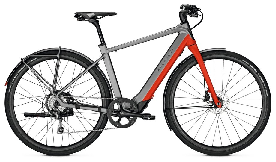 Kalkhoff Berleen 5.G Advance E-Bike Grau Modell 2020