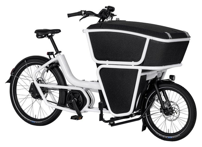 Fahrräder/lastenfahrräder: Urban Arrow  Shorty EPP Weiß Modell 2017