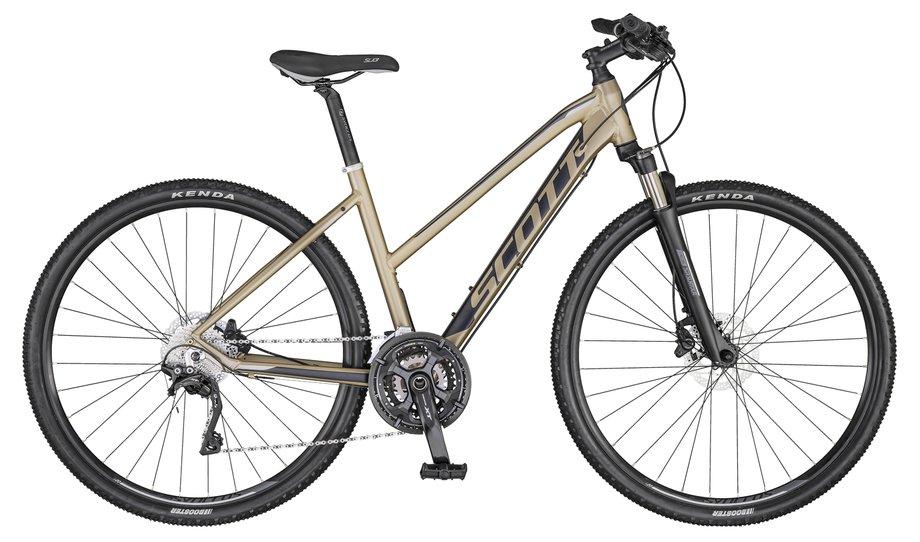 Fahrräder/Crossbikes: Scott  Sub Cross 10 Lady Gold Modell 2020