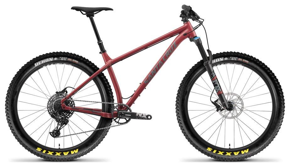 Fahrräder/Mountainbikes: Santa Cruz  Chameleon 7.1 AL D-Kit Grau Modell 2021
