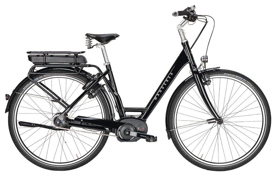 E-Bikes/e-bike: Wanderer  E600 Performance Schwarz Modell 2020