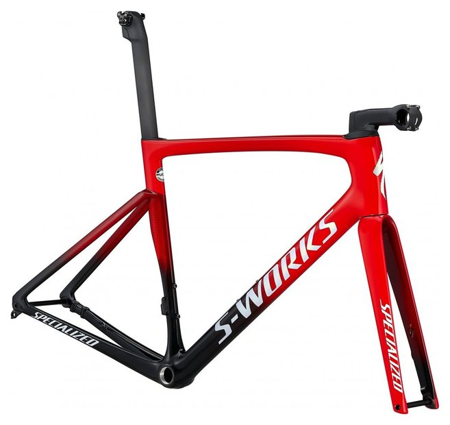 fahrradrahmen/Rahmen: Specialized  Tarmac SL7 S-Works Rahmenset Rot Modell 2021