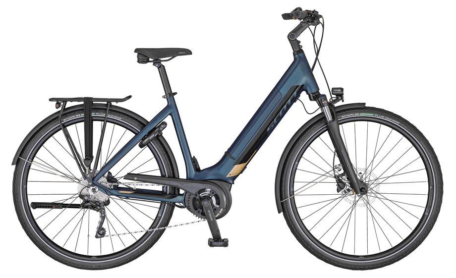 Scott Sub Tour eRIDE 10 USX Blau Modell 2020