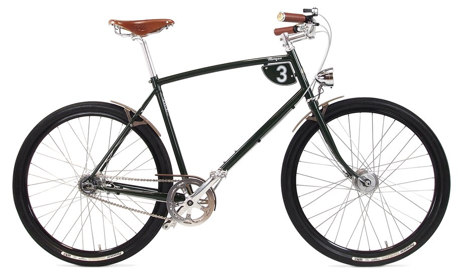 Fahrräder/citybike: Pashley  -Morgan 3 Grün Modell 2019