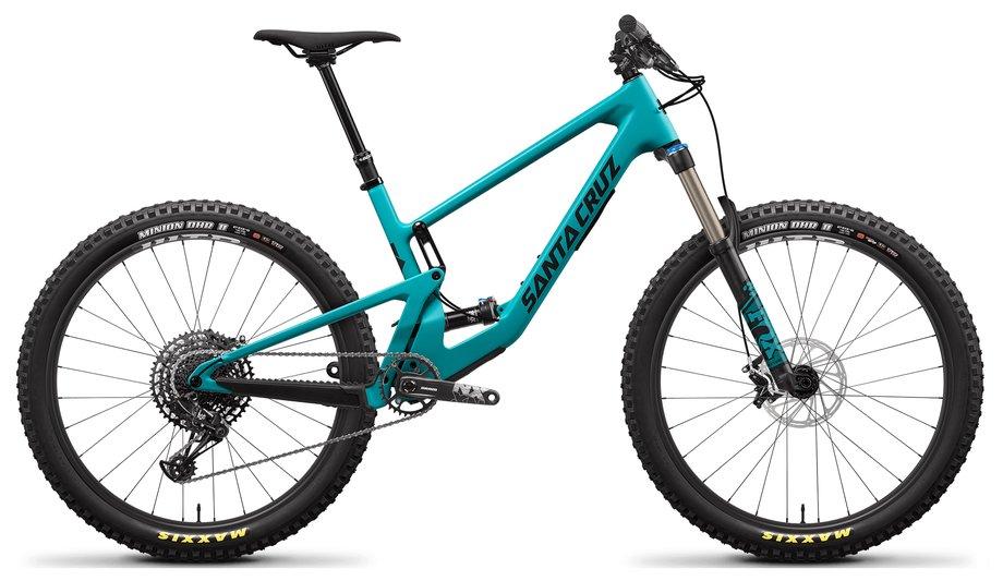 Santa Cruz 5010 4 C R Kit Mountainbike Blau Modell 2021