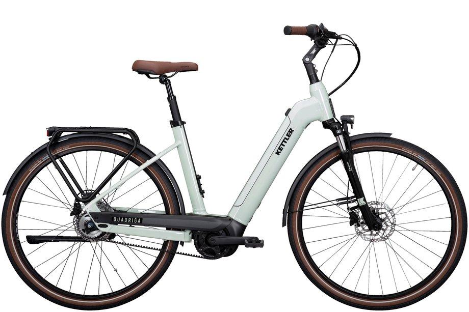E-Bikes/e-bike: Kettler  Quadriga P5 Belt RT Grün Modell 2021