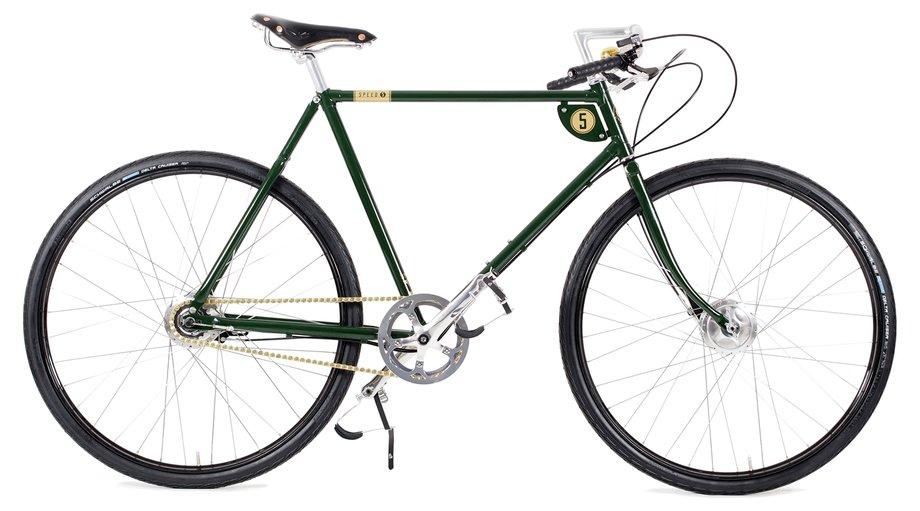 Fahrräder/citybike: Pashley  Speed 5 Grün Modell 2019