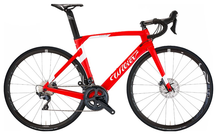Wilier Centro 1 Air Disc – 105 – NDR38 Rot Modell 2020
