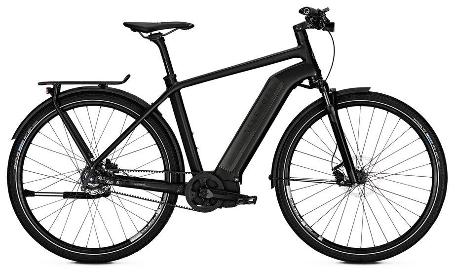 E-Bikes/e-bike: Kalkhoff  Integrale Excite i8 Schwarz Modell 2018