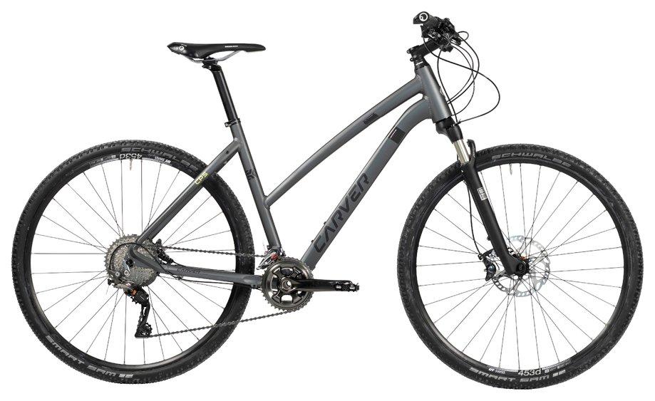 Fahrräder/Crossbikes: Carver  Cinos Cps Grau Modell 2019