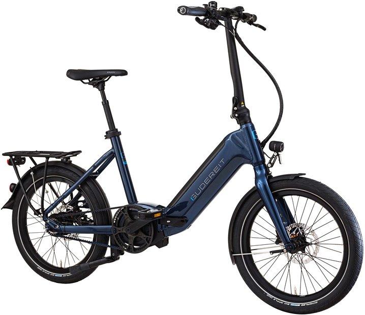 E-Bikes/e-bike: Gudereit  EC-40 evo Foldo Blau Modell 2021