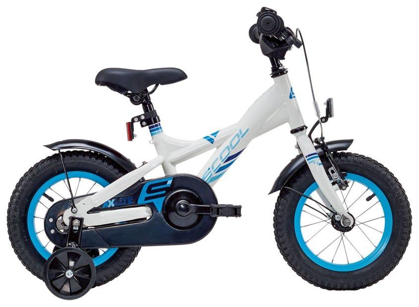 Kinderfahrrad - S'cool XXlite Steel 12 Kinderfahrrad Weiß Modell 2019 - Onlineshop