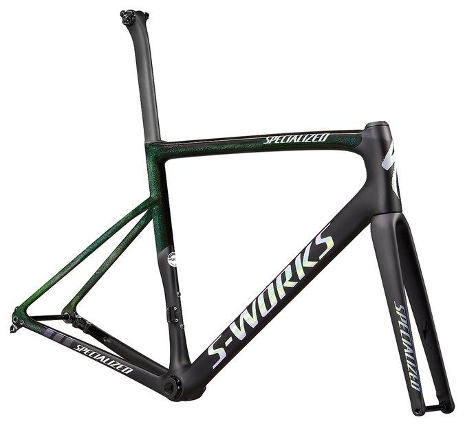fahrradrahmen/Rahmen: Specialized  Tarmac SL6 S-Works Disc Sagan Collection Rahmenset Schwarz Modell 2020